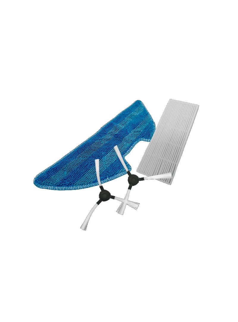 Repuesto kit (Filtro Hepa + cepillos + mopa) Robot aspirador Hero Connect Tienda Online FAGOR SDA