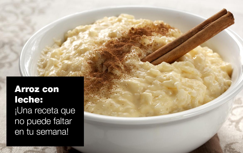Arroz con leche recetas arroz con leche ok |  FAGOR SDA Electrodomésticos Pequeños