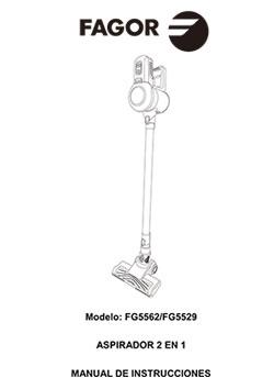 Aspirador vertical ARES 22.2V vertical, aspiradores Aspirador vertical ARES 22.2V |  FAGOR SDA Electrodomésticos Pequeños