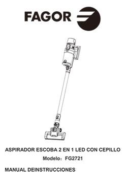 Aspirador vertical ARES Smart Dust Sensor 37V vertical, aspiradores Aspirador vertical ARES Smart Dust Sensor 37V 8 |  FAGOR SDA Electrodomésticos Pequeños