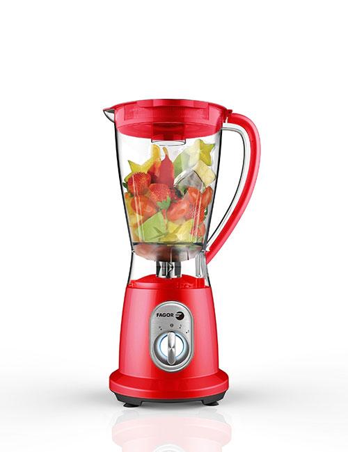 Batidoras de vaso FLIP 600 - Rojo | FAGOR SDA Electrodomésticos Pequeños