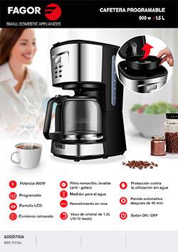 Cafetera WAKEUP cocina, cafeteras FG784 CAFETERA ESPANOL |  FAGOR SDA Electrodomésticos Pequeños