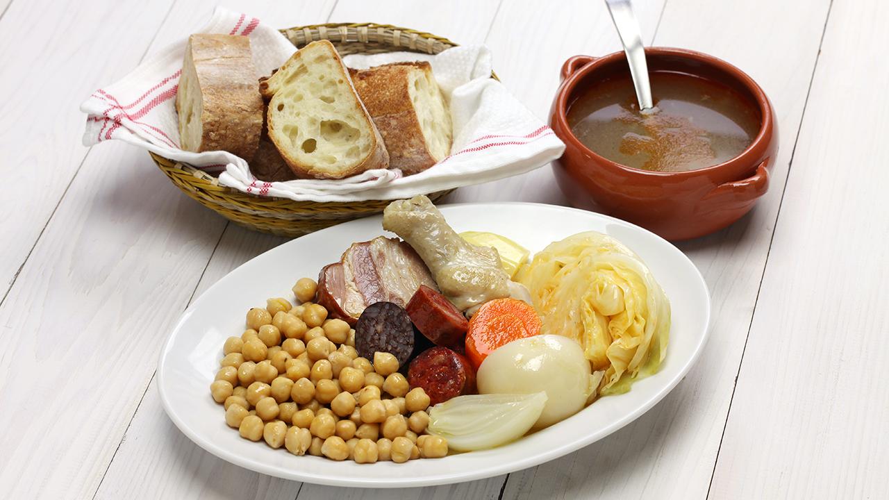Cocido Madrileño recetas COCIDO MADRILEÑO 1 |  FAGOR SDA Electrodomésticos Pequeños
