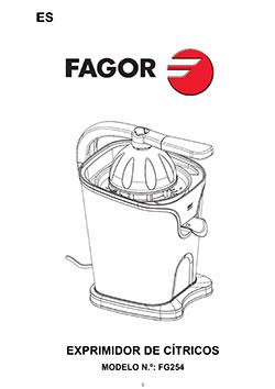 Exprimidor ZUMUX exprimidores, cocina Exprimidor ZUMUX  |  FAGOR SDA Electrodomésticos Pequeños