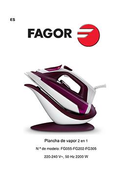 Planchas de vapor COMFORTA EasyDrive planchas-de-vapor FG305 FG202 FG055 MANUAL DE INSTRUCCIONES PLANCHA VAPOR |  FAGOR SDA Electrodomésticos Pequeños