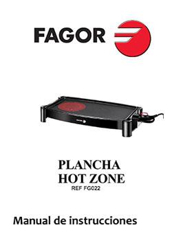 Plancha de asar CLEO HotZone planchas-de-asar, cocina Plancha de asar CLEO HotZone |  FAGOR SDA Electrodomésticos Pequeños