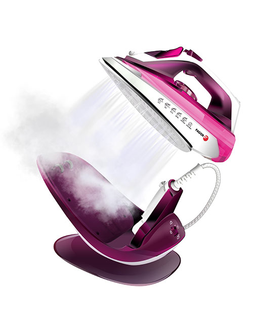Planchas de vapor COMFORTA EasyDrive | FAGOR SDA Electrodomésticos Pequeños