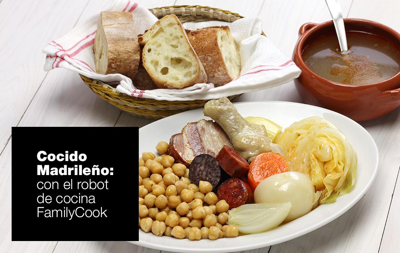 Cocido Madrileño recetas cocido madrileño ok |  FAGOR SDA Electrodomésticos Pequeños