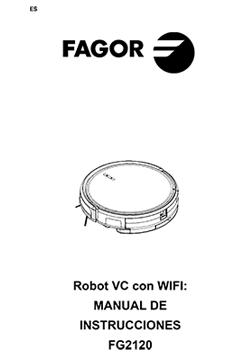 Robot aspirador HERO CONNECT robots-aspiradores, aspiradores FG2120 MANUAL DE INSTRUCCIONES REBOT ASPIRADOR |  FAGOR SDA Electrodomésticos Pequeños