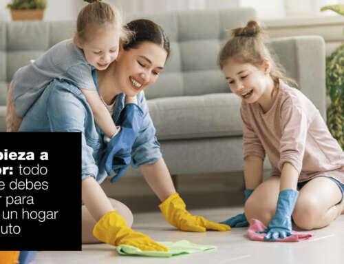 Limpieza a vapor: todo lo que debes saber para tener un hogar impoluto