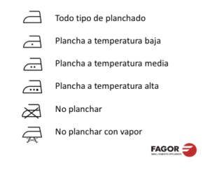 Guía de planchado: ¿Cómo se plancha cada tejido? hogar simbolos plancha 2 300x250 |  FAGOR SDA Electrodomésticos Pequeños