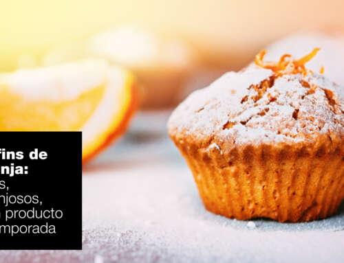 Muffins de naranja fáciles, esponjosos y ¡de temporada!