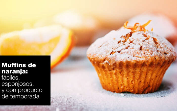 muffins de naranaja