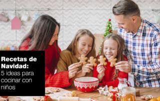Cinco recetas navideñas para cocinar con niños | FAGOR SDA Electrodomésticos Pequeños