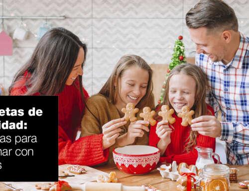 Cinco recetas navideñas para cocinar con niños