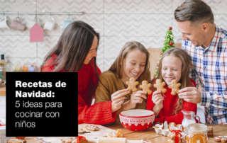Cinco recetas navideñas para cocinar con niños recetas navidad 320x202 |  FAGOR SDA Electrodomésticos Pequeños