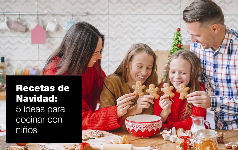 Cinco recetas navideñas para cocinar con niños recetas navidad |  FAGOR SDA Electrodomésticos Pequeños