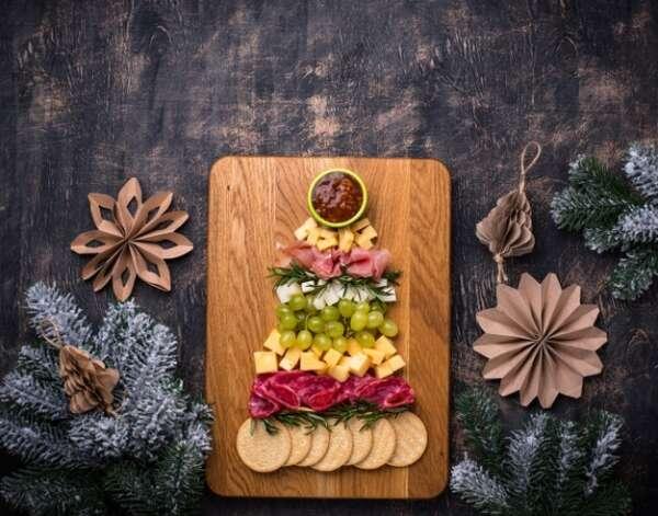 Cinco recetas navideñas para cocinar con niños recetas plato aperitivos forma arbol navidad 82893 17407 600x471    FAGOR SDA Electrodomésticos Pequeños