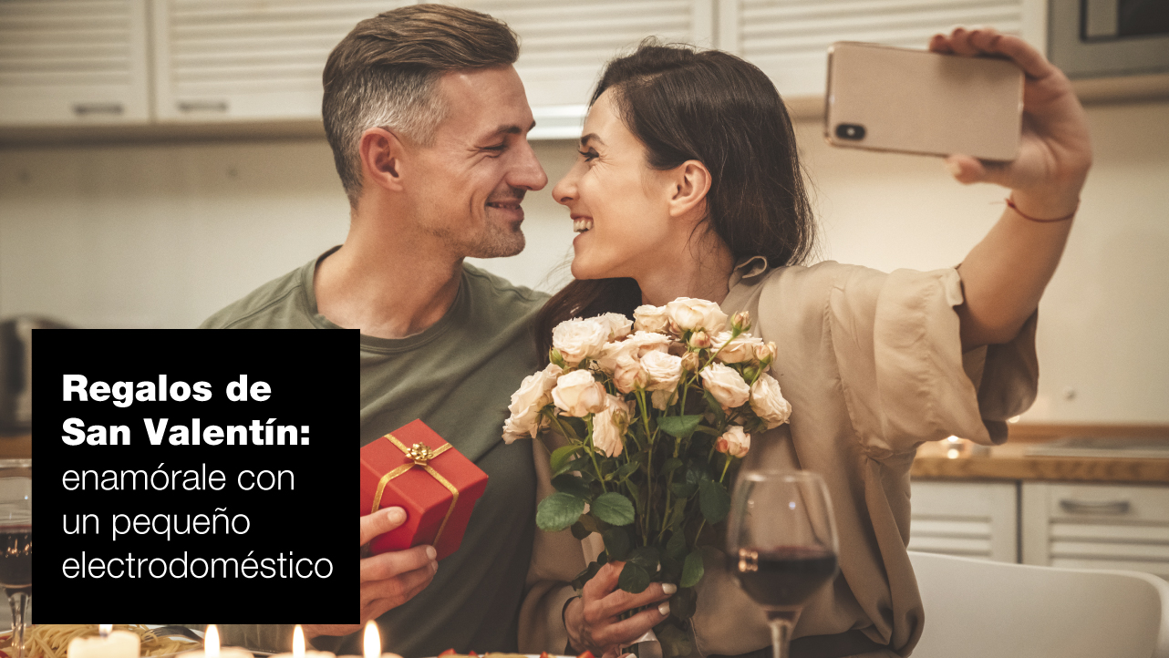 Regalos para San Valentín: enamórale con un pequeño electrodoméstico | FAGOR SDA Electrodomésticos Pequeños