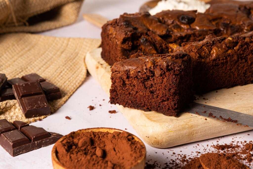 Receta FamilyCook: Brownie de 3 chocolates
