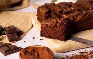 Receta de Brownie de 3 chocolates   Electrodomésticos Pequeños FAGOR SDA
