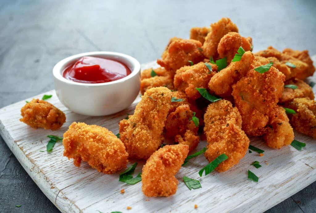 Receta Narturfry: Nuggets de pollo crujientes