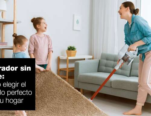 Cómo elegir un aspirador sin cable para tu hogar