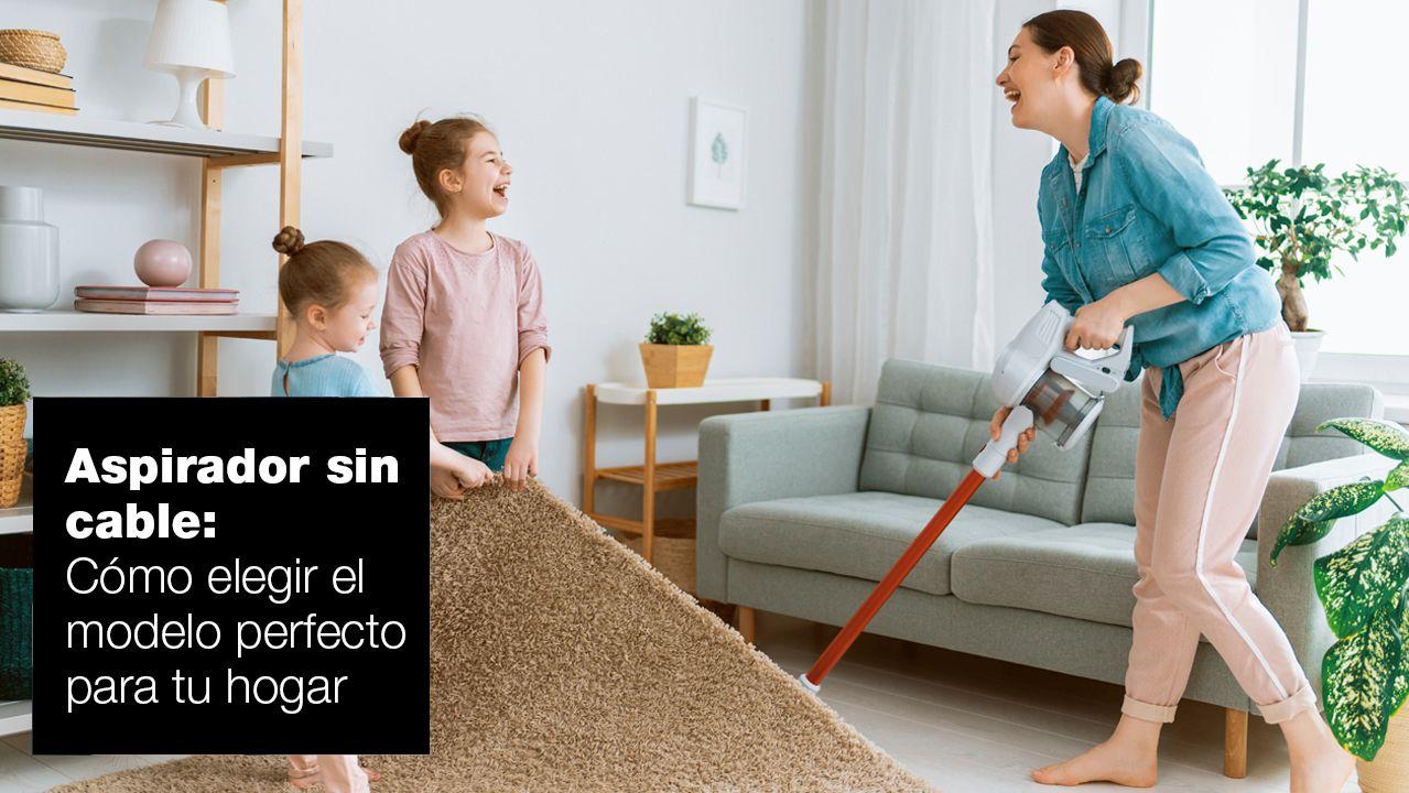 Cómo elegir un aspirador sin cable para tu hogar| FAGOR SDA Electrodomésticos Pequeños