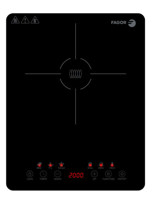 Placas de inducción  Placadeinducción Fagor Lexie 500x675    FAGOR SDA Electrodomésticos Pequeños