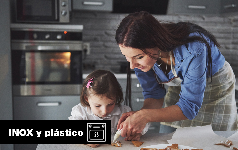inox y plástico
